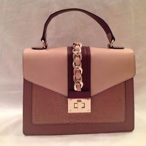 NWT Apt.9 Mauve/Pink Handbag